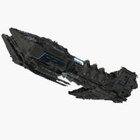 3ds max warship allied fleets destroyer