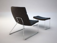 lounge chair relounge 3d model
