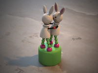 Toy rabbits
