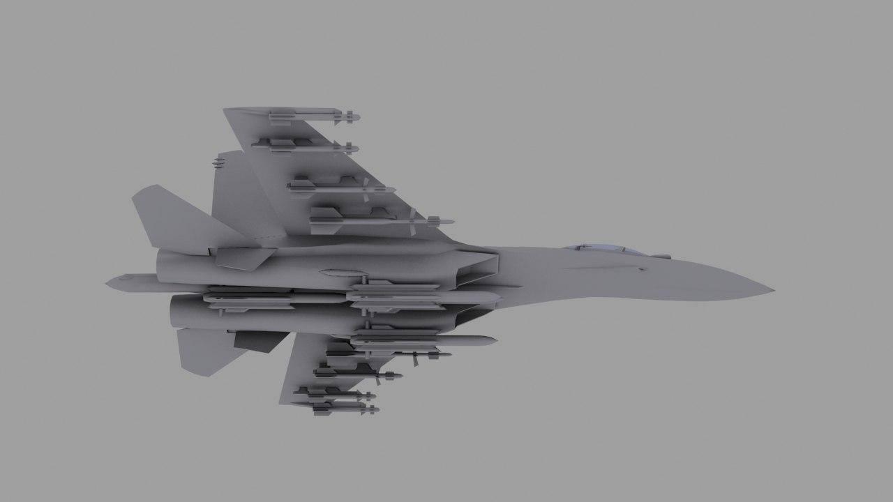 su-35 fighter 3d 3ds