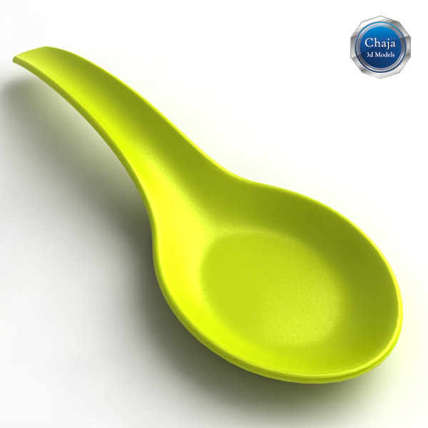3d model of teaspoon spoon tea