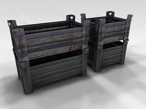 tin box 3d model