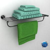 towel 3d max