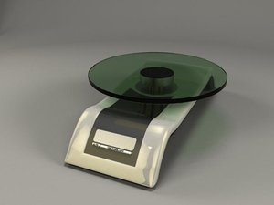realistic weight scale 3d 3ds