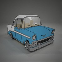 cartoon Chevrolet BelAir ToonRender