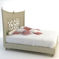 bed alta moda 3d model