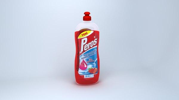 3d model of detergent