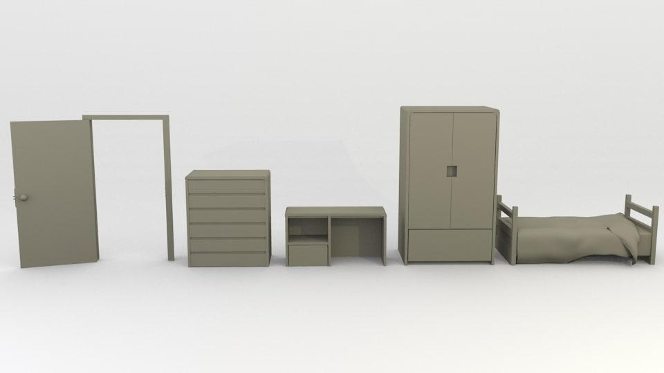obj simple furniture