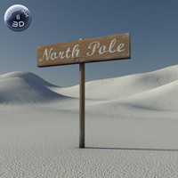 max north pole sign