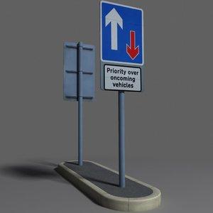 road sign coz100918506 ma