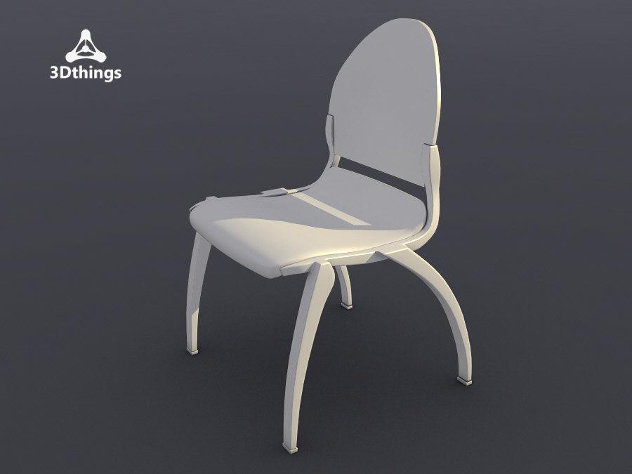 3d conference chair dublin 4-leg model