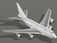 Boeing 747-SP Airplane