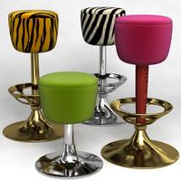 lwo bar stool set