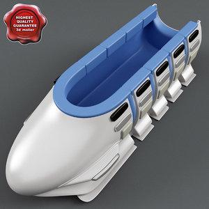 maya bobsleigh sled