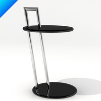 3ds max occasional table eileen gray