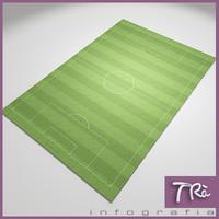 3dsmax soccer field