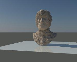 free head mutant funny 3d model