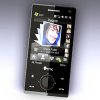 htc diamond phone 3d model