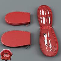 3d model manicure set