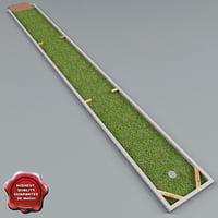mini golf v2 3d model