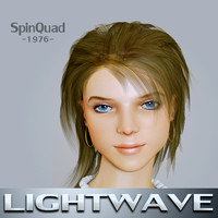 Young woman - Mona - LightWave rigged