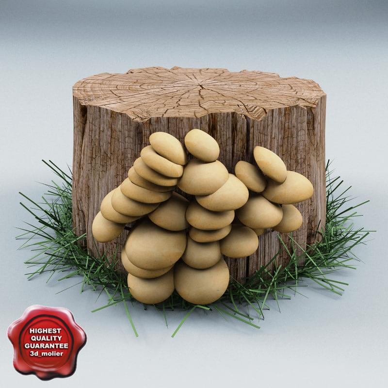 3d 3ds old stump v2