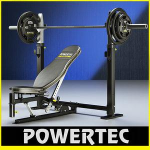 powertec wb-ob10 olympic power 3d 3ds