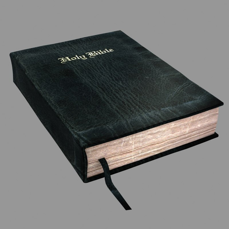holy bible 3d max