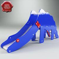 3ds max slide dinosaur