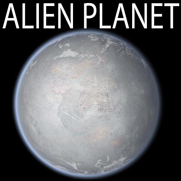 maya alien planet