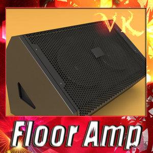 3d model stage amp -
