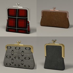 money purses 3d x