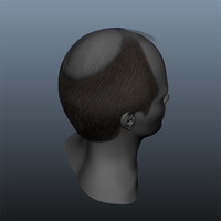 balding hair style male