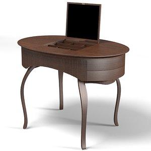 ceccotti lady table 3d max