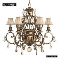 fine art lamp classic chandelier art deco ceiling lamp luster pendant suspension 161740 bronze