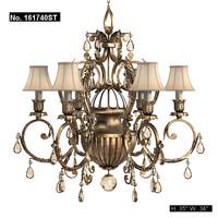 fine art lamp classic chandelier art deco ceiling lamp luster pendant suspension 161740 bronze