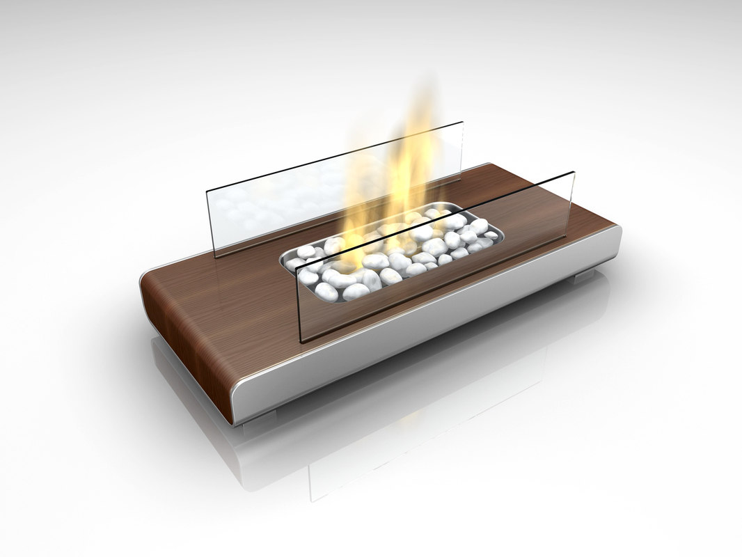 3dsmax fireplace place
