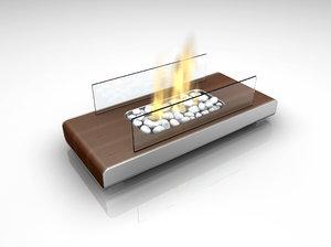 3dsmax fireplace place