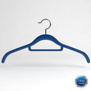 hanger clotheshanger 3d dxf