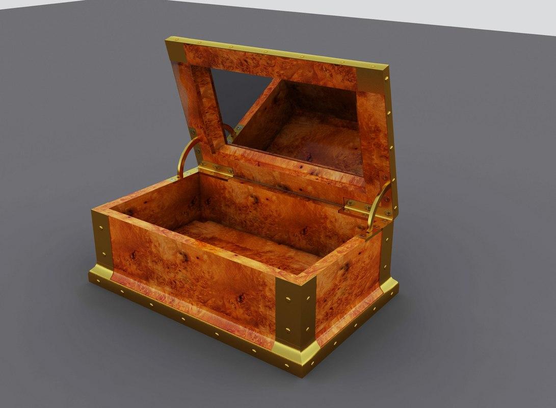 jewelry box 3d max