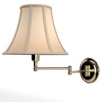 lite source charleston  swing arm chandelier wall lamp sconce tarditinal modern classic
