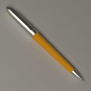 3d luxury pen
