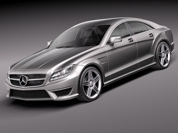 3ds mercedes benz cls amg
