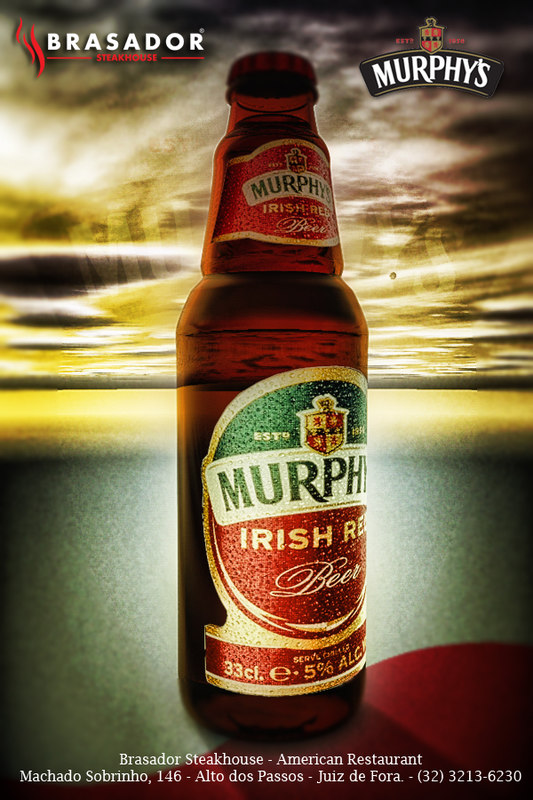 3d murphys red ale bottle