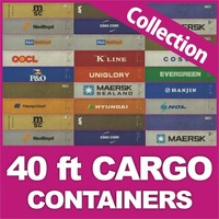 40 ft HD Containers collection