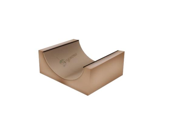 rampe en carton 3d ma