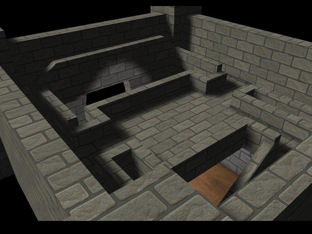 castle b3d 3ds free