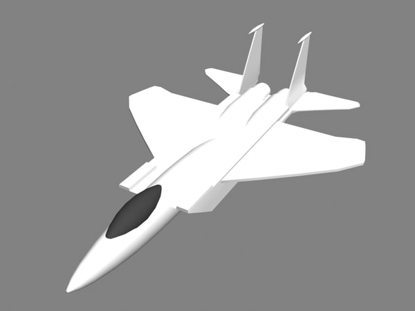 3ds american fighter jet