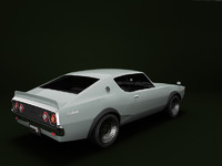 3d old skyline car