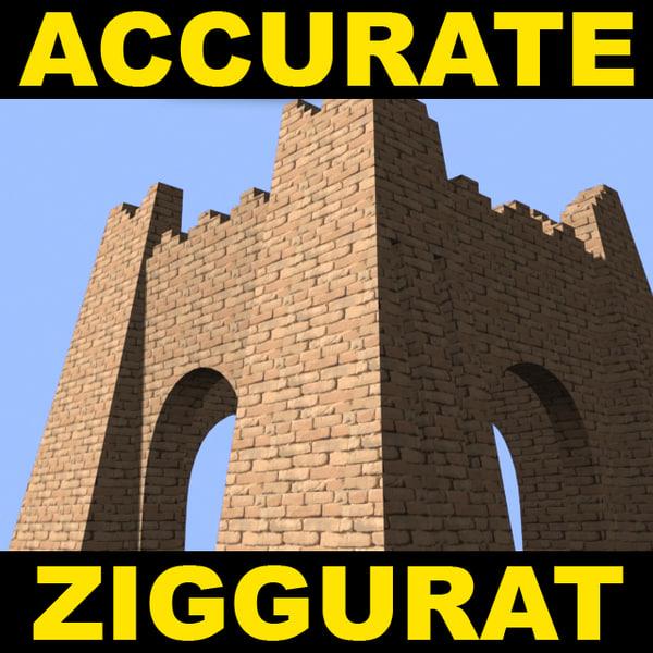 ziggurat ur accurate 3ds